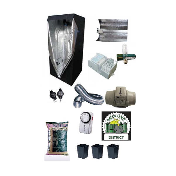 kit completo Grow Box 250W AGRO - Green Light District - Italia