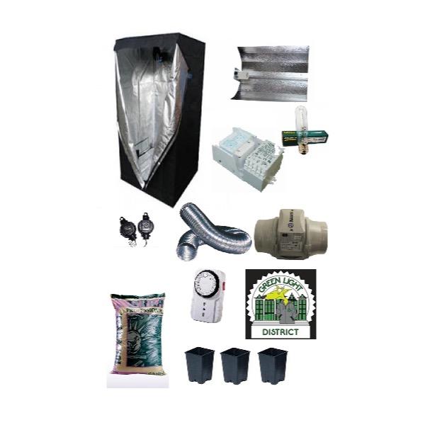 kit completo Grow Box 250W AGRO - Green Light District - Italia